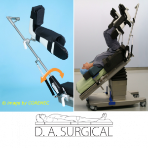 Supporti per il posizionamento degli arti inferiori