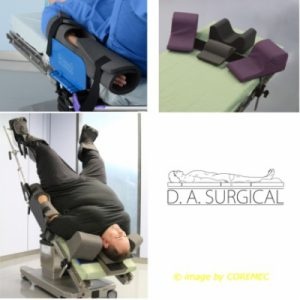 Patient positioning accessories for surgery