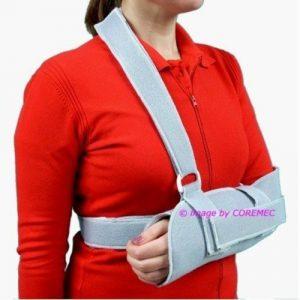 Sling, supporto universale reggibraccio con cinghia di stabilizzazione