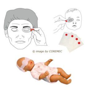 Protezioni oculari per il paziente